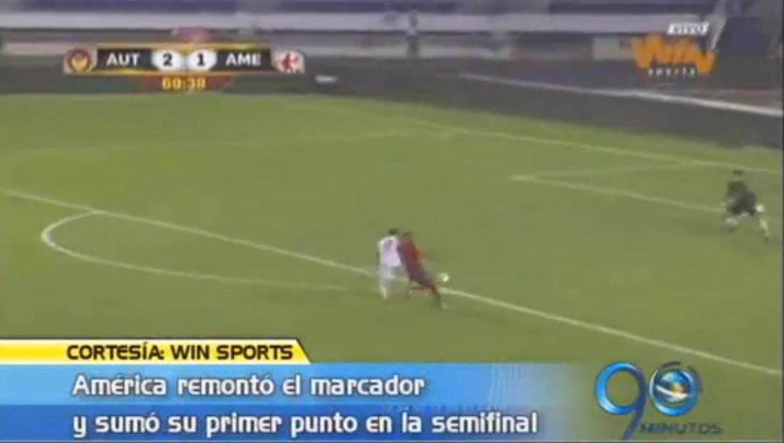 Reacciones de Paulo César Arango luego del empate de América