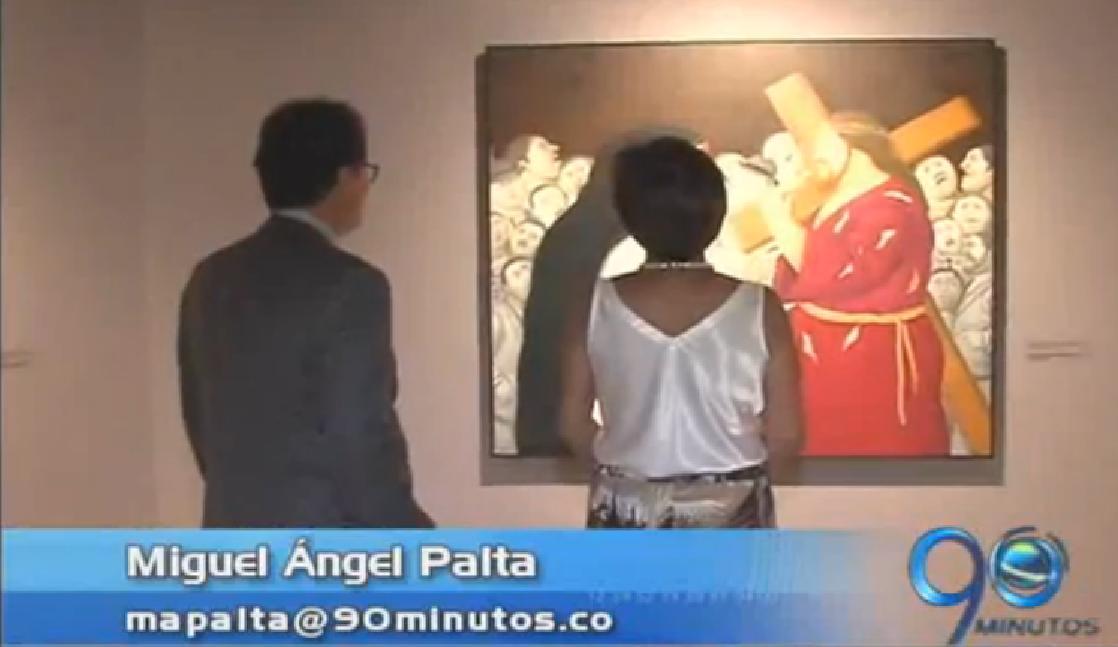 Exposición de Botero ya está abierta al público en Cali