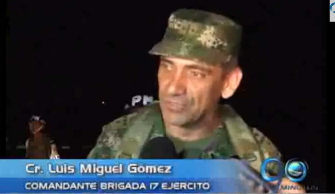 Fuerzas Armadas investigan accidente de avioneta en el Chocó