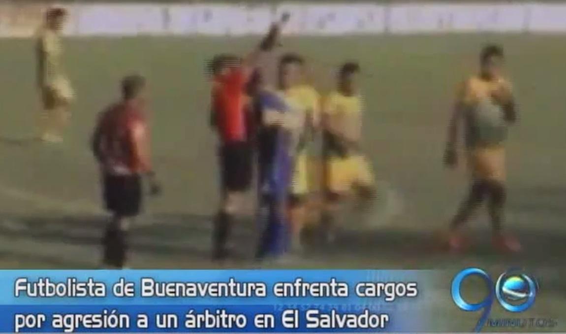 Futbolista de Buenaventura está preso por lesiones personales en El Salvador