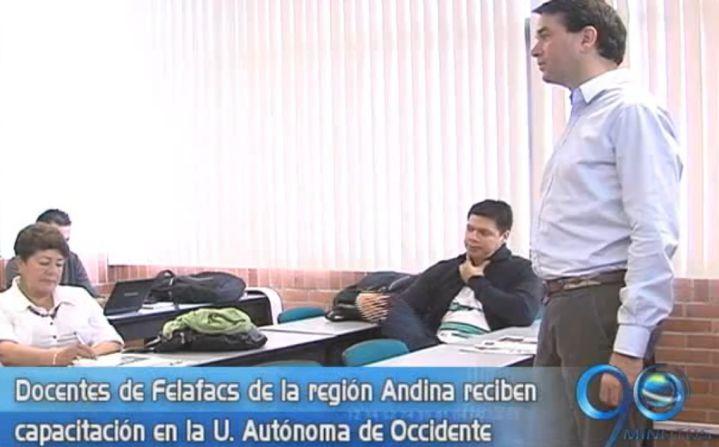 Capacitación en la UAO para docentes de la región andina