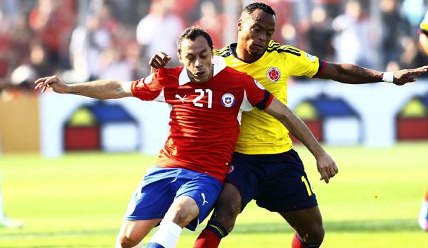Chile ya se entrena de cara al partido con Colombia por las eliminatorias