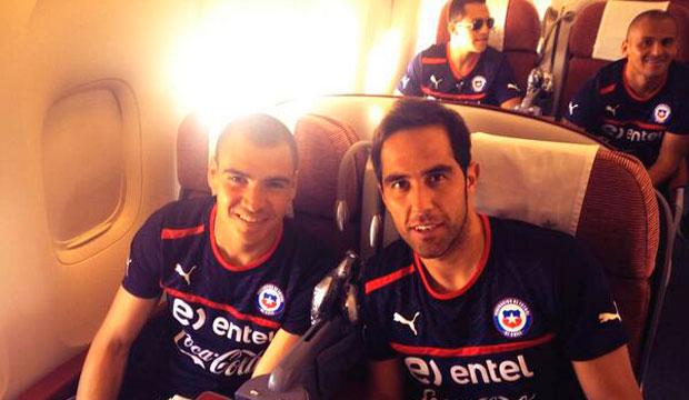 Chile ya está viajando hacia Colombia y llegará esta tarde