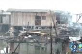 Corto circuito generó incendio en Tumaco