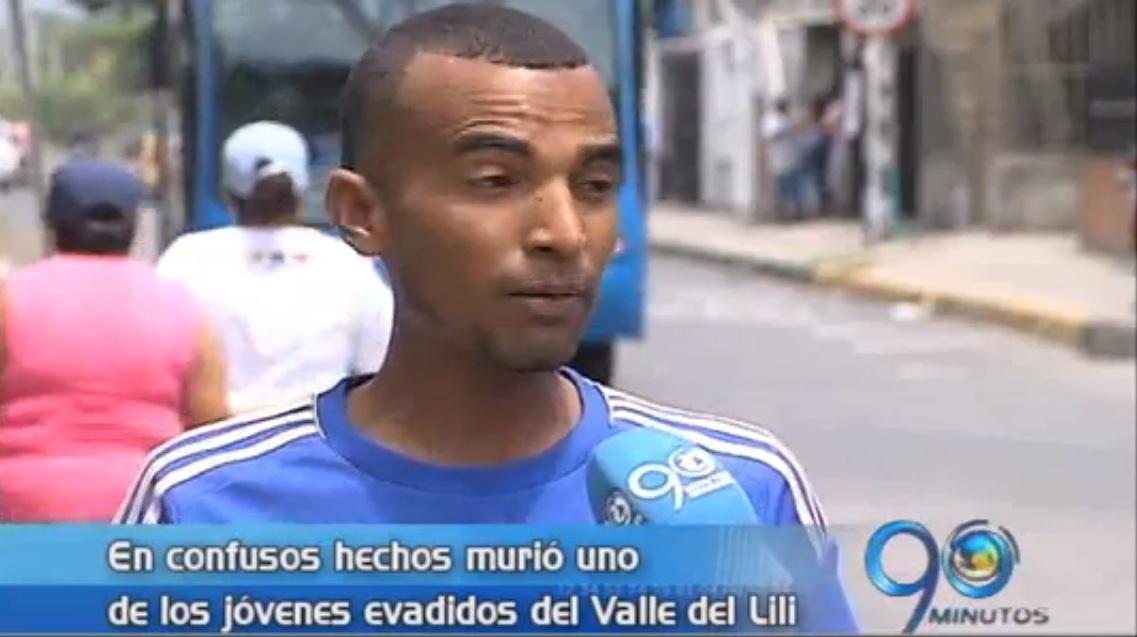 Asesinado joven infractor fugado del centro Valle del Lili