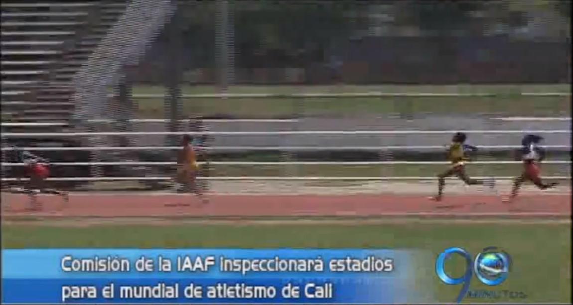 Realizarán inspección a estadios sedes del Mundial Atletismo Menores 2015