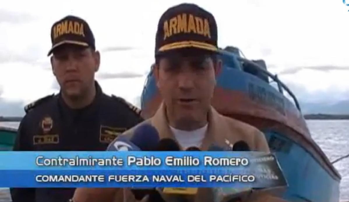Armada Nacional detuvo a pescadores ilegales ecuatorianos cerca de isla Malpelo