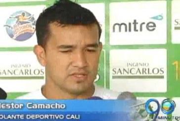 Néstor Camacho figura del Deportivo Cali retorna a sus filas