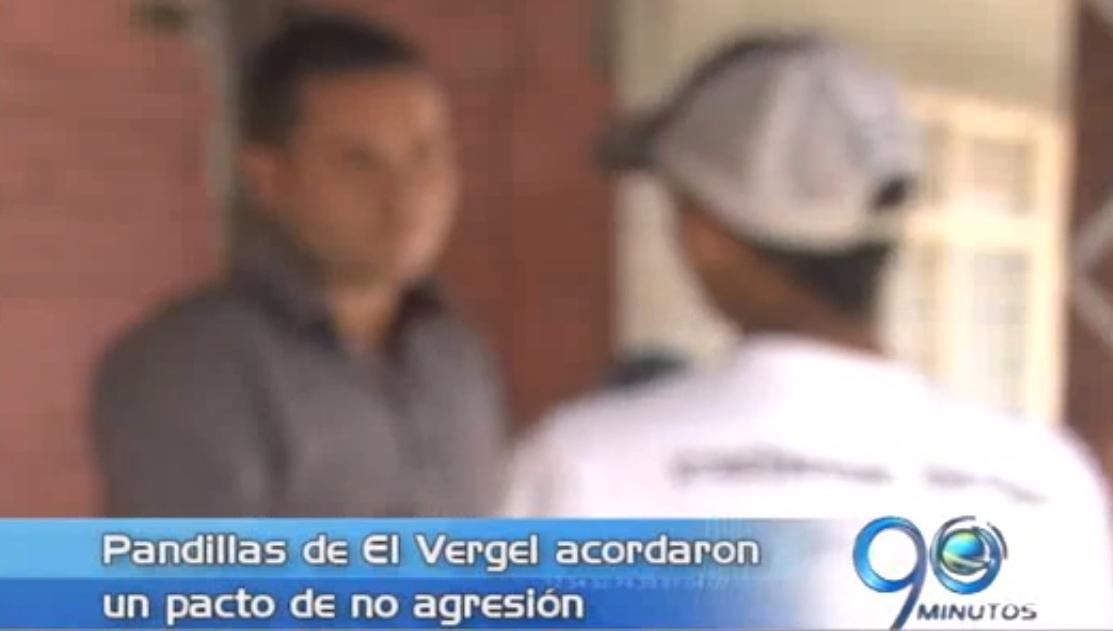 Pandillas del barrio El Vergel acuerdan pacto de no agresión