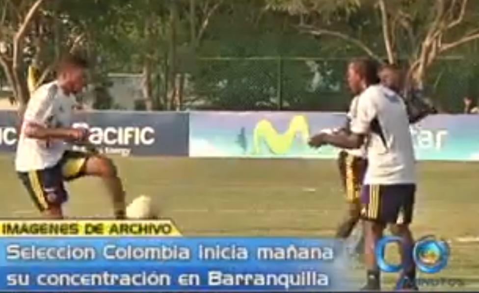Selección Colombia de mayores inicia jornadas de concentración