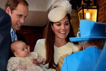 Bautizo del primogénito del príncipe William moviliza el mundo