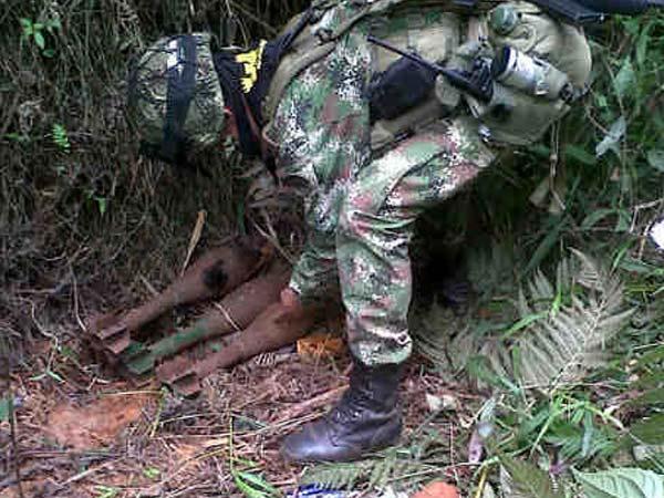Ejército localiza nueve tatucos de las Farc en el Cauca