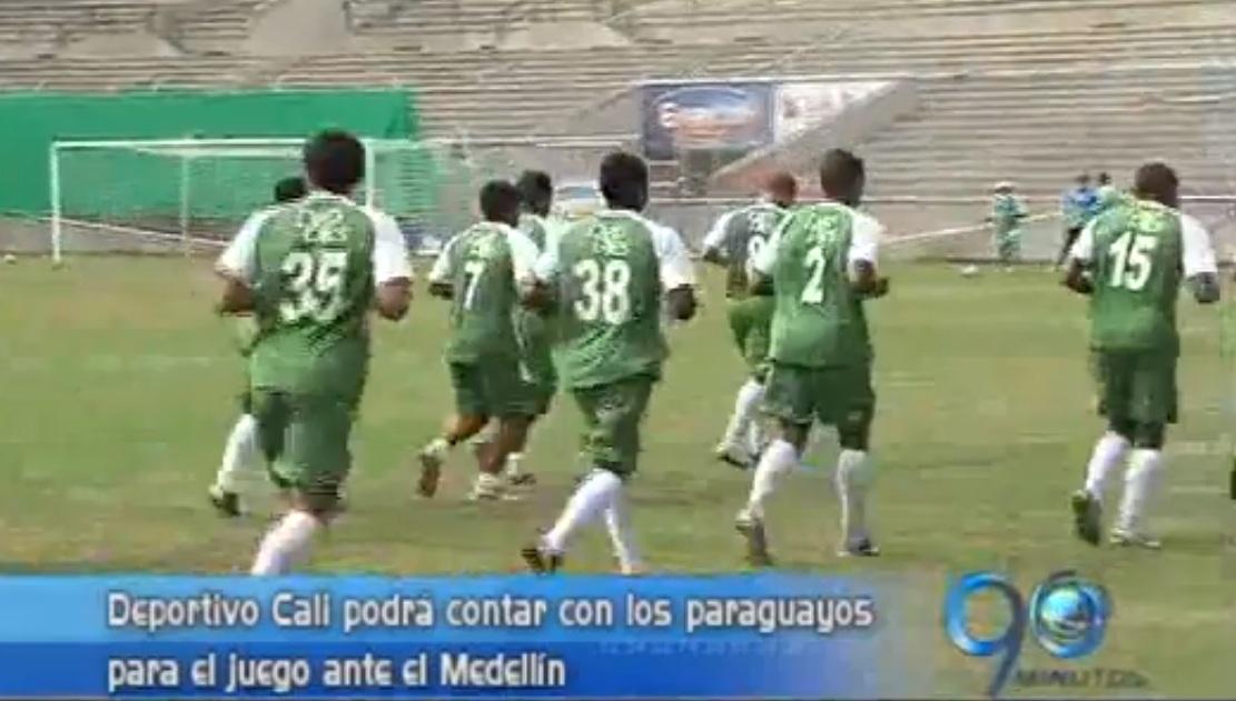 Con novedades en su nómina Deportivo Cali jugará ante el Medellín