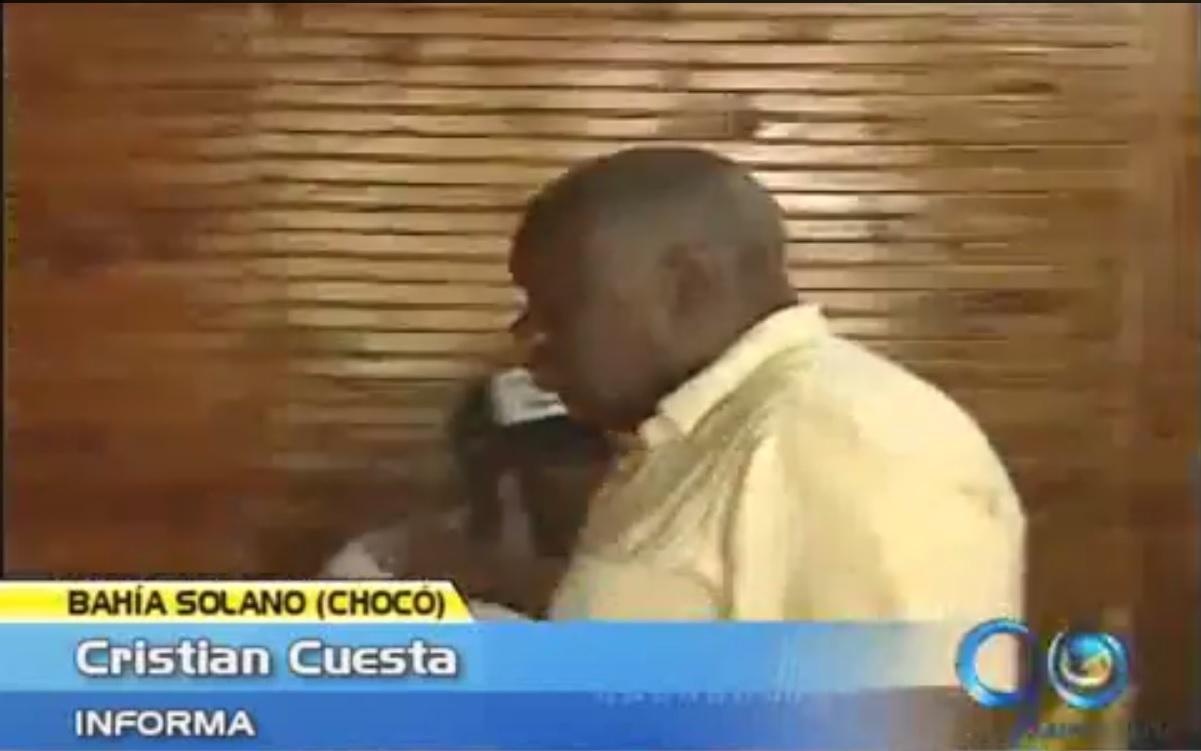 Presidente del Concejo de Bahía Solano agredió a un periodista