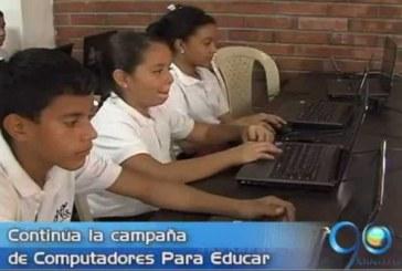 Más niños se preparan con Computadores para Educar