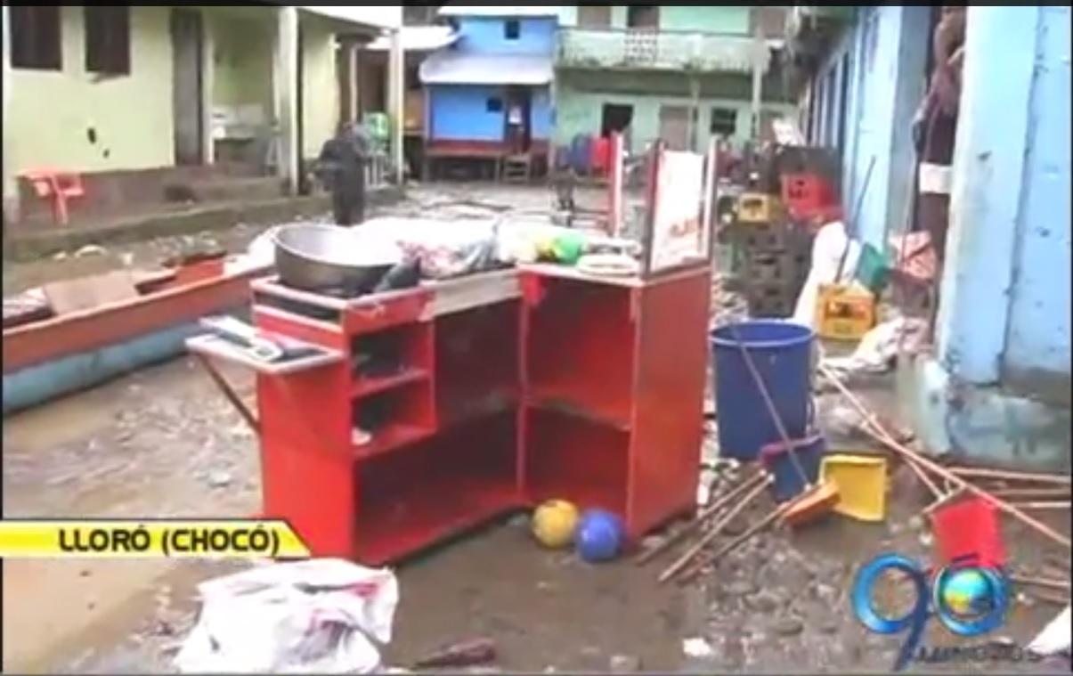 El invierno tiene en emergencia al Departamento del Chocó
