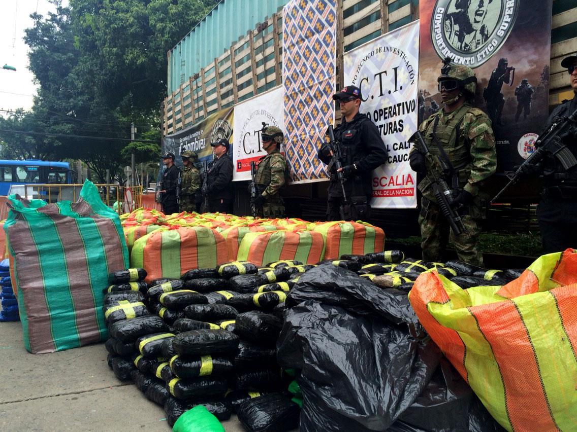 """Incautadas 3.6 toneladas de marihuana tipo """"cripy"""""""