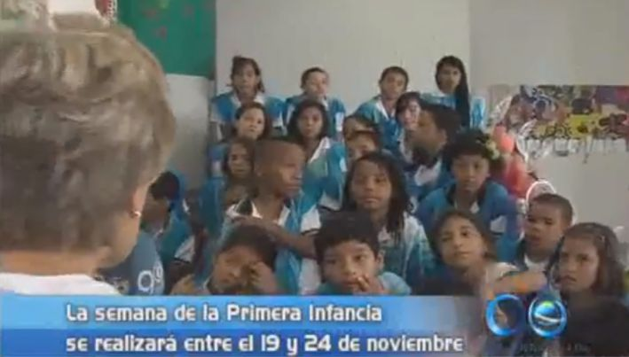 Alcaldía presentó la semana de la primera infancia y el alumbrado navideño