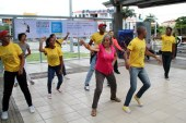 La primera Bienal de Danza se tomó  las estaciones del MIO