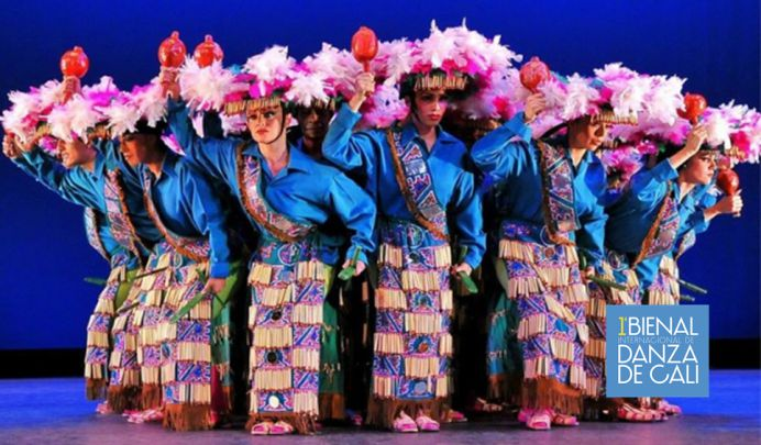 Ballet Folklórico de México en la 1a Bienal de Danza