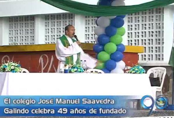 El colegio José Manuel Saavedra Galindo cumple 49 años de fundado