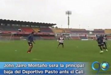 Deportivo Pasto se prepara para su partido ante el Cali el próximo sábado