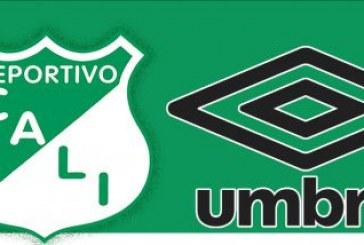 Al Deportivo Cali lo vestirá la marca británica Umbro a partir del 2014