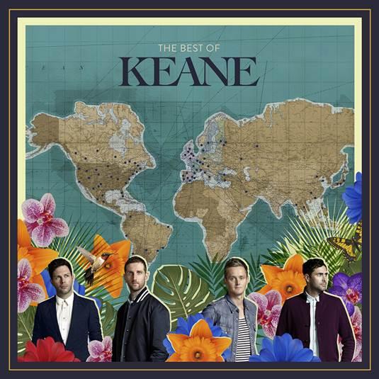 "Kaene estrena su nuevo álbum titulado ""Best of Keane"""