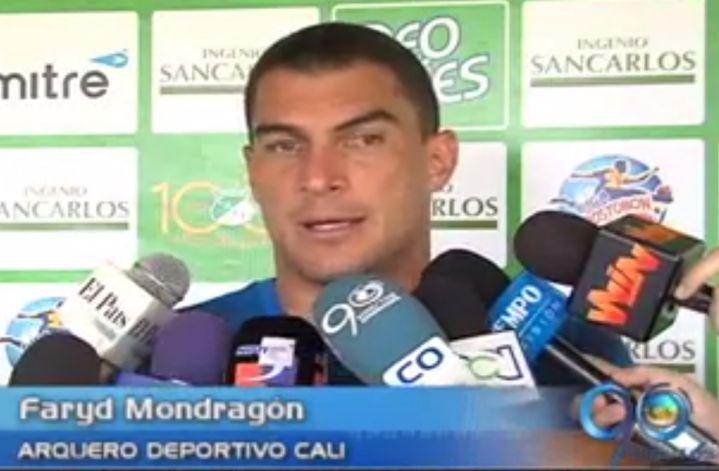 Faryd Mondragón anhela ver al Deportivo Cali en la final