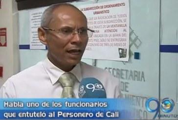 Habla uno de los funcionarios que entuteló al Personero de Cali