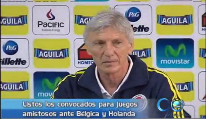 Lista la nómina de Colombia para enfrentar a Bélgica y a Holanda