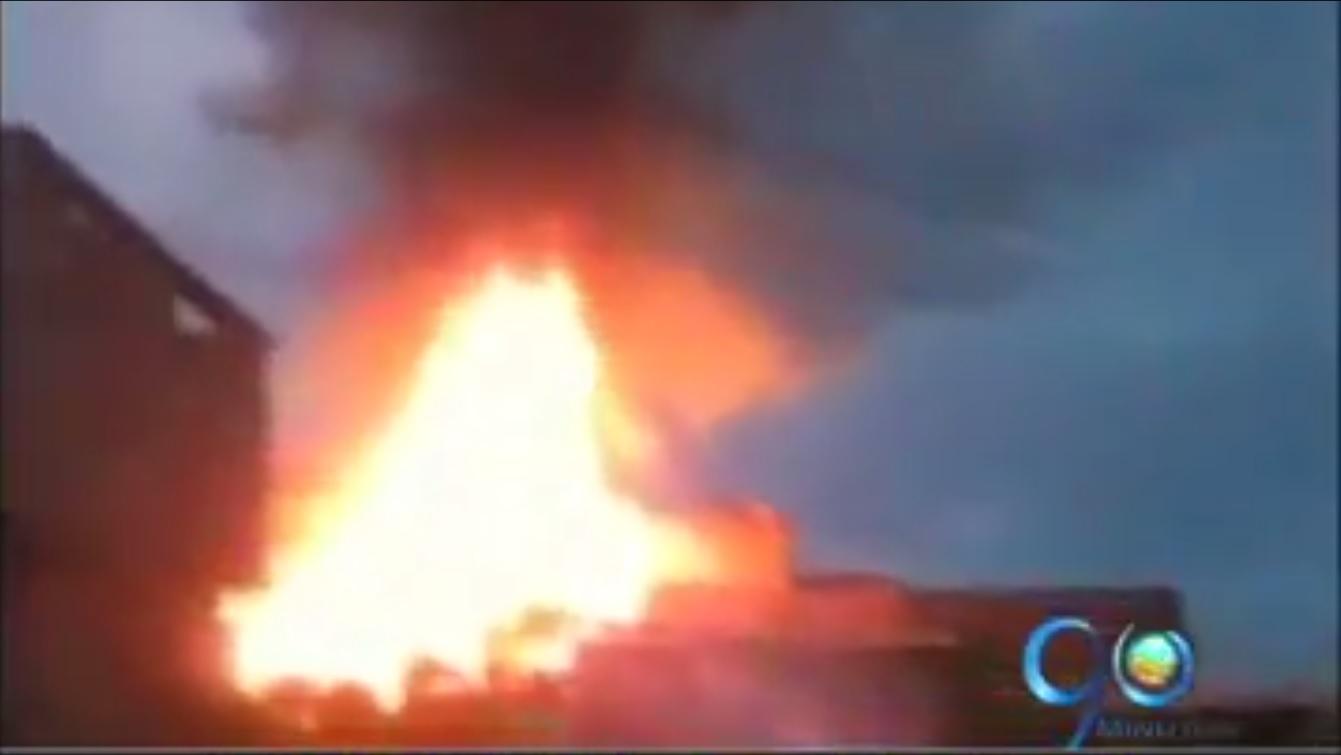 Incendio dejó en la calle a familias en Popayán
