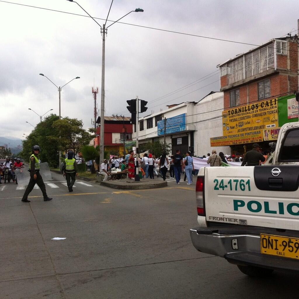 Se reactivan protestas contra la Reforma a la Salud en Cali