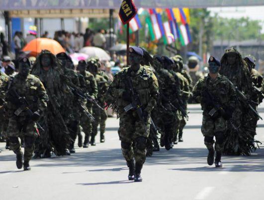 Cali militarizada