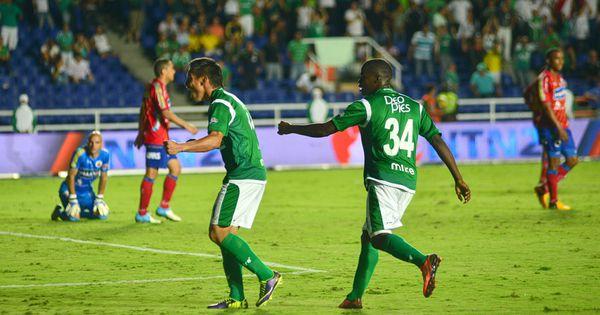 Deportivo Cali venció al Pasto tres goles por dos en el Pascual Guerrero