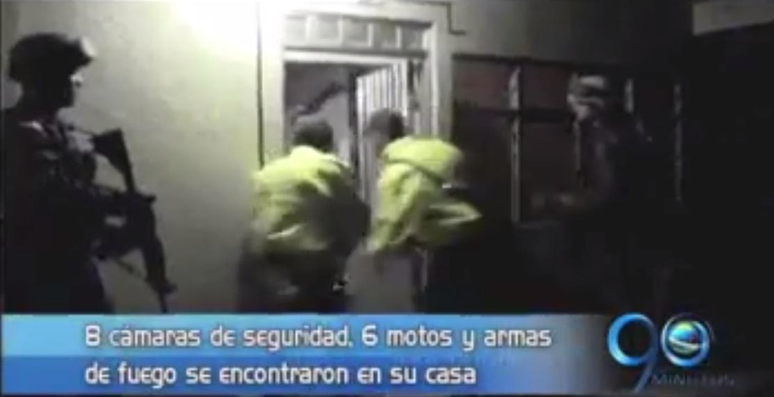 Decomisan armas, munición, motos y cámaras de seguridad en Guanabanal, Palmira