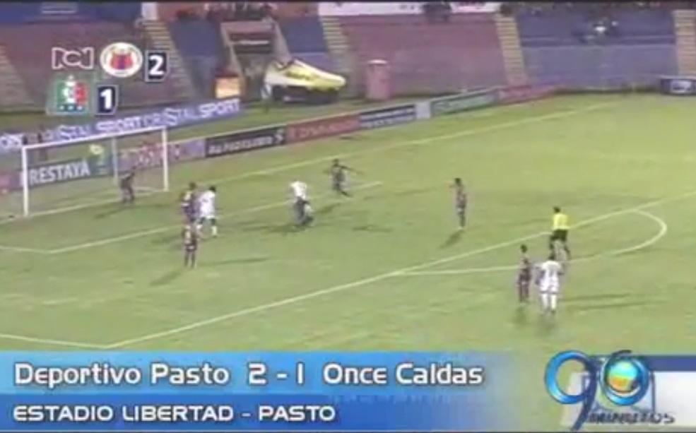 Deportivo Pasto logró vencer al Once Caldas en calidad de local