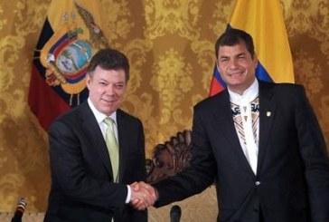 Presidentes de Santos y Correa se reunirán en Ipiales