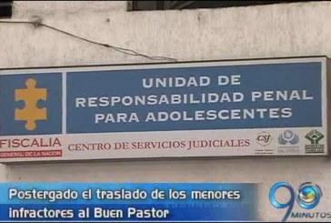Postergan traslado de menores infractores al Buen Pastor