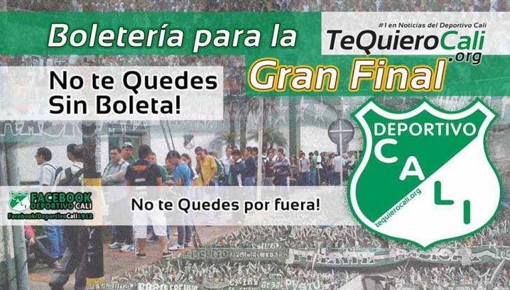 Especial Deportivo Cali: El precio de la boletería para la final