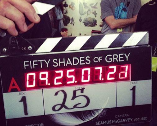 Inició el rodaje del best seller 50 Sombras de Grey