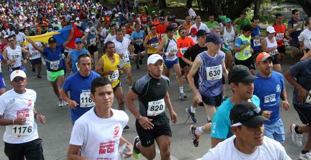 Con éxito total se realizó la tradicional carrera atlética Río Cali