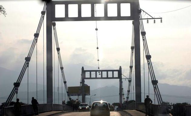 Garantizan recursos para restauración del puente de Juanchito