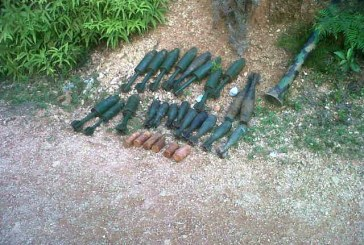 Caleta con explosivos fue hallada en zona rural de Jamundí