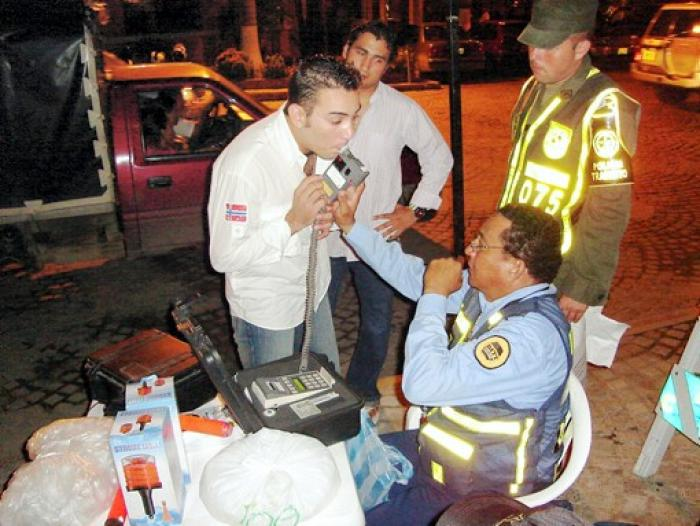 Ley contra conductores embriagados da resultados positivos