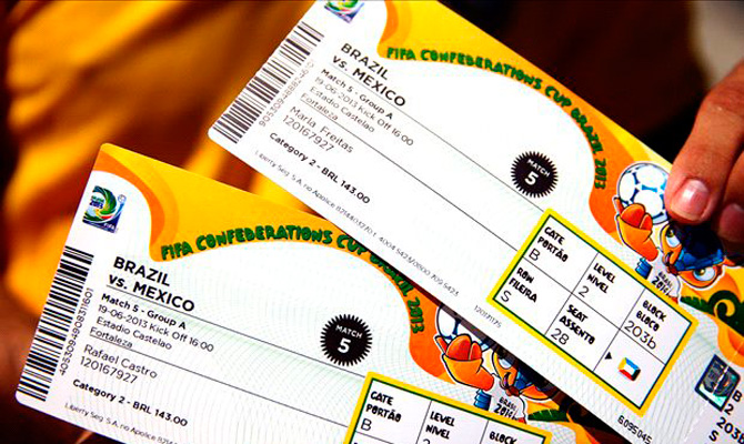 Nueva disposición de boletería para colombianos en el Mundial de Brasil