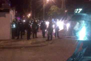 Vídeo: disturbios en la Autopista Sur oriental entre hinchas