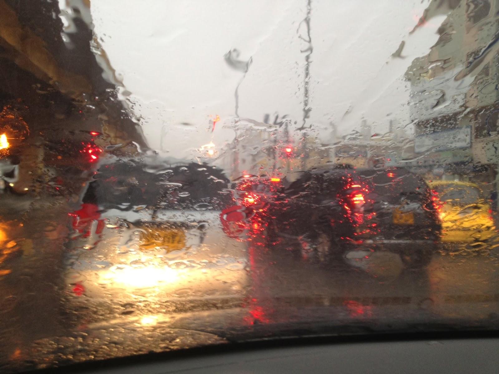 Fuertes lluvias azotaron la Región