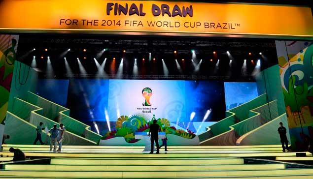 Ya están definidos los grupos que jugarán en Brasil 2014