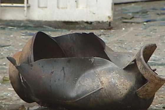 Emergencia por explosión de un cilindro de gas en Buga